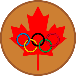 File:Maple leaf olympic bronze medal.png - Wikimedia Commons