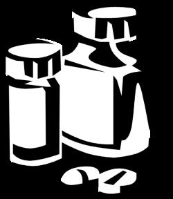 Prescription Medication Pills - Vector Image