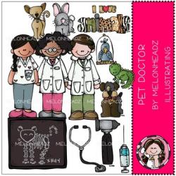 Pet Doctor clip art - veterinarian - COMBO PACK - by ...