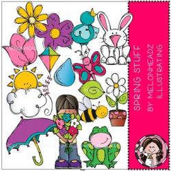 Spring Stuff clip art - Melonheadz Clipart