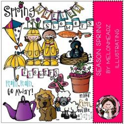 Season Spring clip art - by Melonheadz