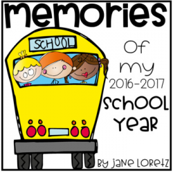 Memories of my School Year (on the pond clipart) by Jane Loretz | TpT