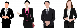 Clipart - Business Professionals