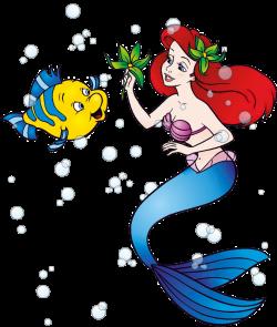 Little Mermaid Birthday Clip Art