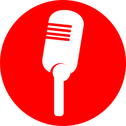 OnlineLabels Clip Art - Icon Microphone