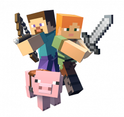 Minecraft Clipart Transparent - 13357 - TransparentPNG
