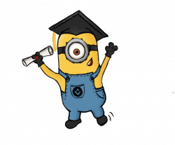 Graduating Minion by CelaLemos on DeviantArt