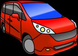Minivan Clip Art at Clker.com - vector clip art online, royalty free ...