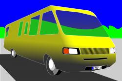 Clipart - caravan