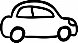 Car Outlined Vehicle Side View Svg Png Icon Free Download (#10603 ...