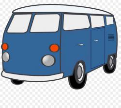 Minivan Volkswagen Type 2 Clip art - Van Cliparts png download ...
