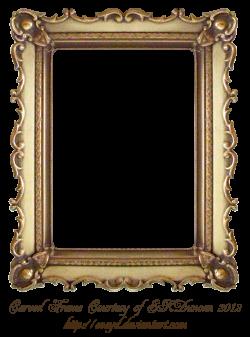 Carved Gold Frame by EKDuncan by EveyD.deviantart.com on @DeviantArt ...