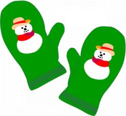 Winter Mittens Clipart