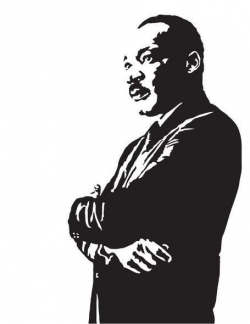 mlk vector simple - Google 搜尋 | reference | Luther, Jr art ...
