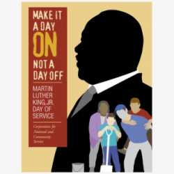 Vector Illustration Of Mlk Martin Luther King Day ...