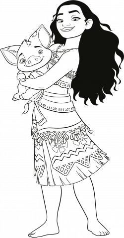 Disney Moana Coloring Pages - Coloring Book Moana - Download ...