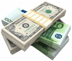 Bundles Of Dollars and Euro PNG Clipart Picture | money, many,much ...