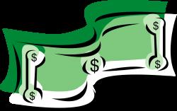 Million dollar bill clip art - Clip Art Library