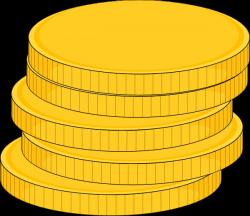 Money Stack Of Coins Clip Art at Clker.com - vector clip art online ...