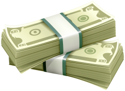 Wads of Dollars PNG Clipart - Best WEB Clipart