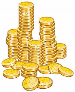Coins Stack PNG Clipart Picture | Gallery Yopriceville - High ...