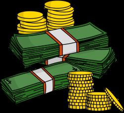 Money Clipart Transparent Background - ClipartXtras