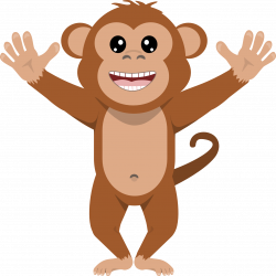 monkey clipart png 5 | Clipart Station