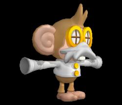 Wii - Super Monkey Ball: Banana Blitz - Doctor - The Models Resource