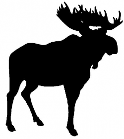 Printable Free Animal Silhouettes | MOOSE make the best ...
