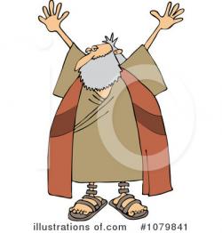 Moses Clipart #1079841 - Illustration by djart