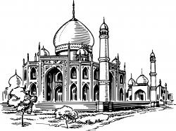 Mosque 2 Clipart - Design Droide
