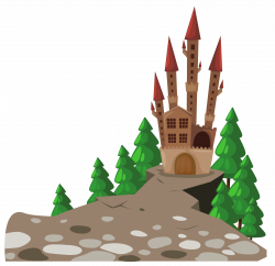Transparent Castle and Pines PNG Picture | Gallery Yopriceville ...