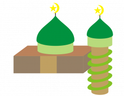 Clipart - Simple Mosque