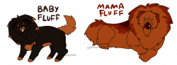 Tibetan Mastiff Pup and Mother Adopts [CLOSED] by ElaineAdoptables ...