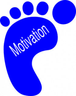 Left Footprints Motivation Clip Art at Clker.com - vector clip art ...