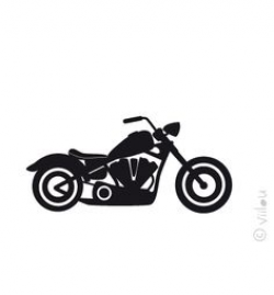 motorcycle clipart harley | ... of Motorbikes | Choppers | Harley ...