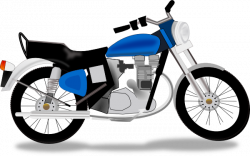 Honda Motorcycle Clipart