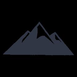 Snow mountain climbing holidays - Transparent PNG & SVG vector