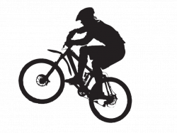 Mountain outline mountain bike outline clipart clip art library ...