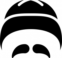 Chinese Hat And Moustache Svg Png Icon Free Download (#56903 ...