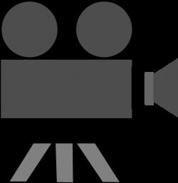 Clipart - Movie Camera
