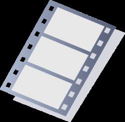 Movie Stripe Larger Format Clip Art at Clker.com - vector clip art ...