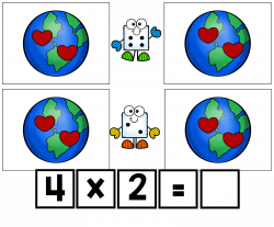 Simply Delightful in 2nd grade: Earth day multiplication equal ...