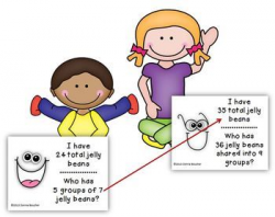 Common Core: I Have/Who Has Multiplication and Division ...
