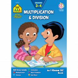 Multiplication & Division 3-4 Workbook Makes Math a Playful ...