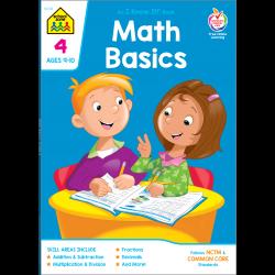 Math Basics 4 Workbook Makes Learning Fun! | School Zone