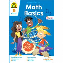 Math Basics 5 Deluxe Edition Workbook Sharpens Important ...