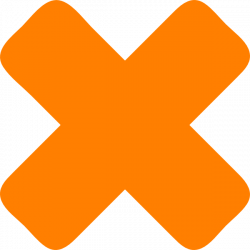 X Cross Icon Clip Art at Clker.com - vector clip art online, royalty ...