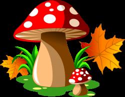 Mushroom Cartoon Royalty-free Illustration - Red dot mushroom 2178 ...