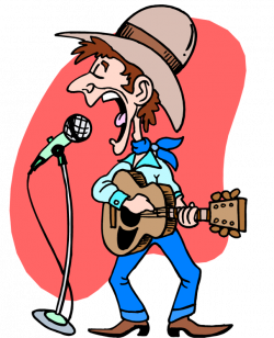 Country Musician Clipart